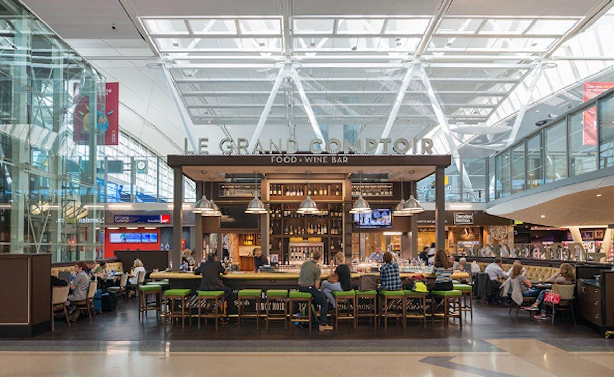Jfk Airport Food Court Terminal
