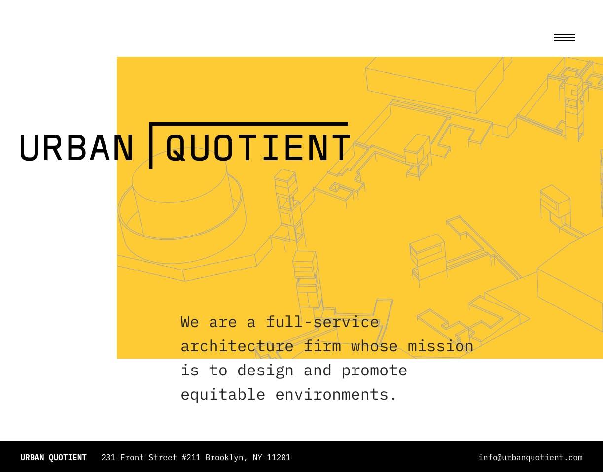 Urban Quotient