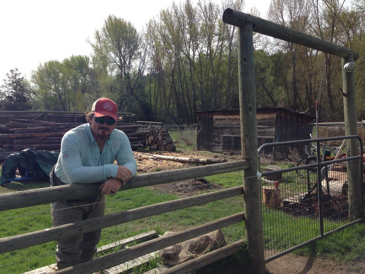 Fourth generation rancher works to restore a river in Oregon