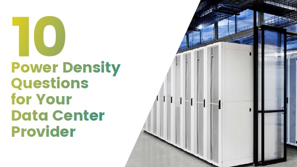 10 Power Density Questions to Ask Your Data Center Provider