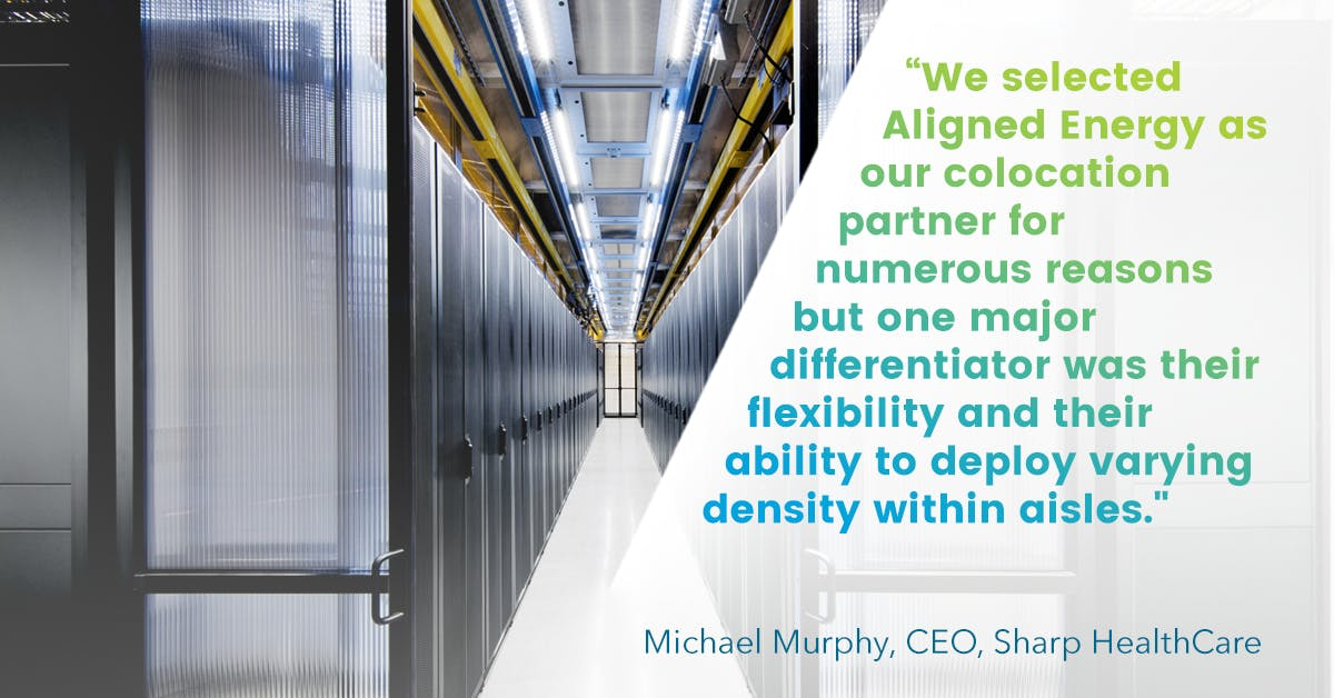 Sharp HealthCare Selects Aligned Energy as Data Center Provider
