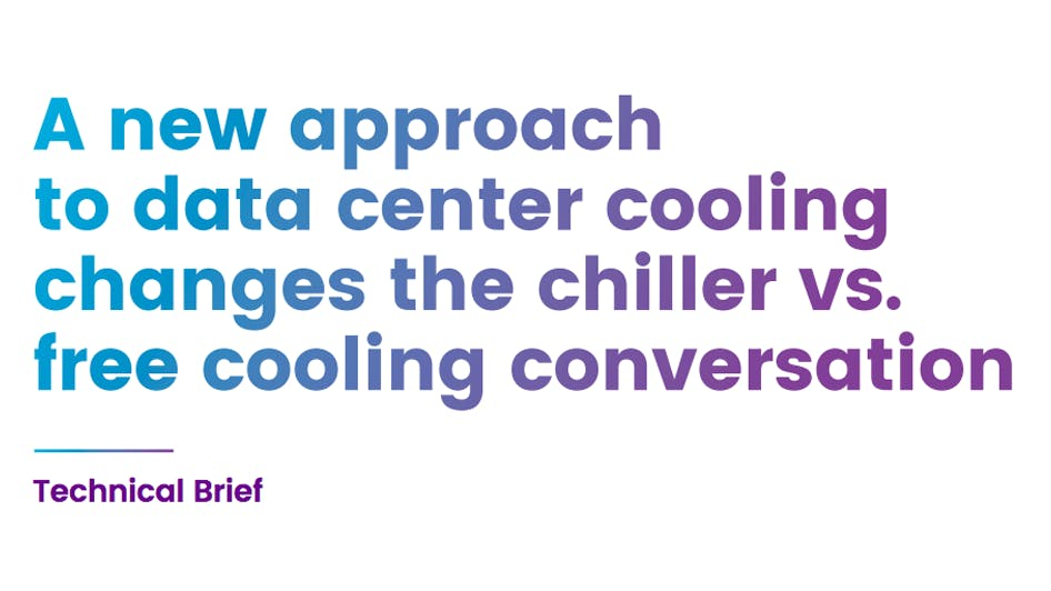 Tech Brief: Chiller vs. Free Cooling
