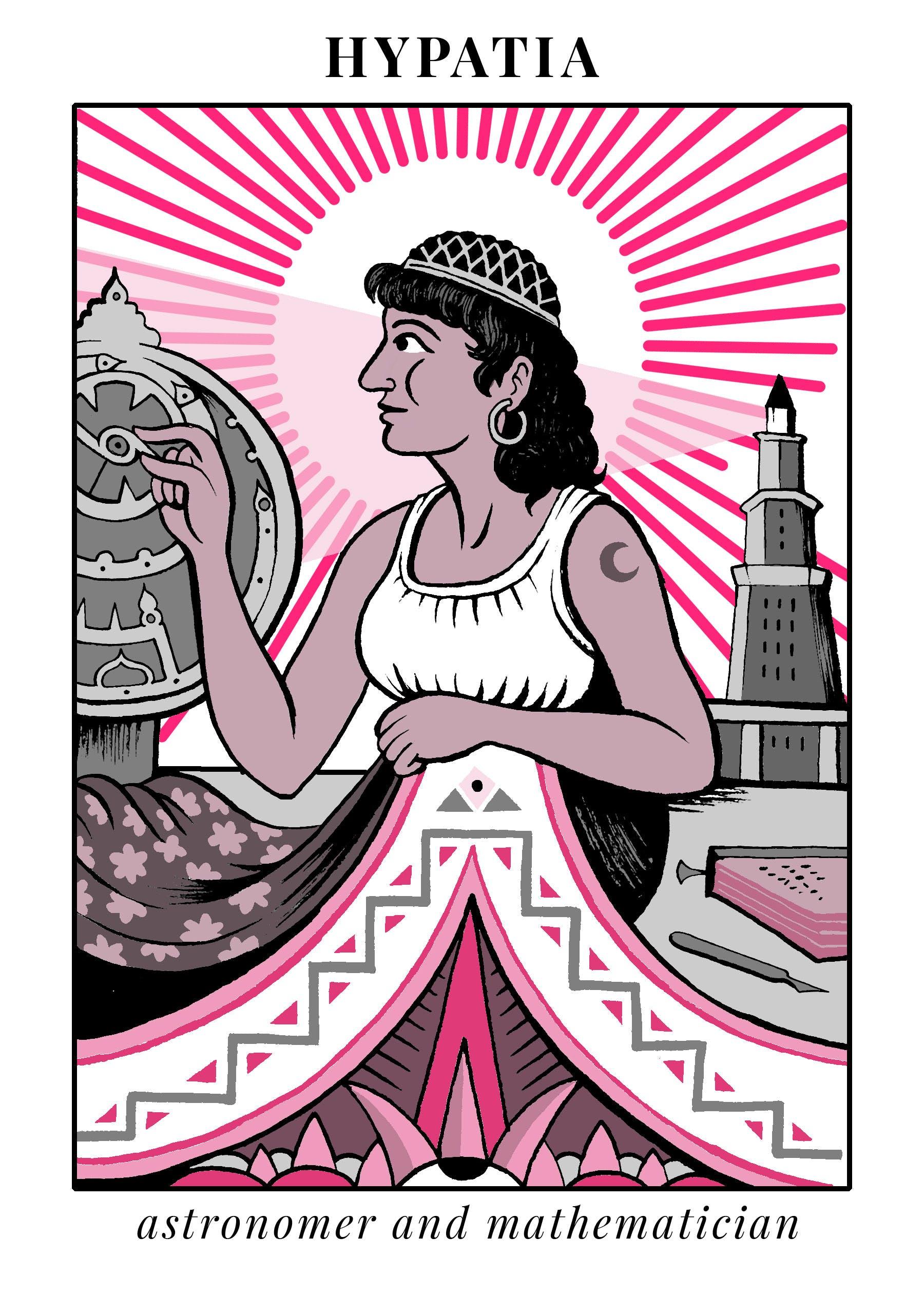 Hypatia the Mathematician.